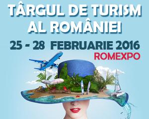 Vă invităm la Târgul de Turism al României 2016 (25-28 februarie, Romexpo)